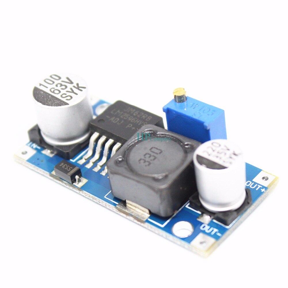 Image 3 - 50PCS 48V adjustable voltage regulator module DC DC LM2596HVS Enter 4.5 60V-in Integrated Circuits from Electronic Components & Supplies
