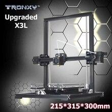 Big print größe 315*300*215mm tronxy x3l verbesserte aluminium profil hohe präzision reprap 3d drucker diy kit fern serie