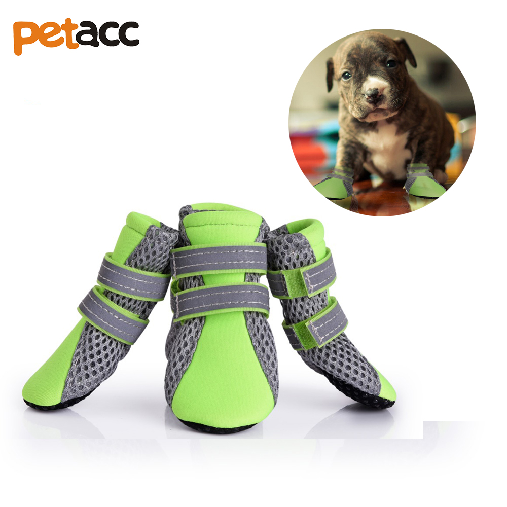 PETACC Hot sale All Sizes Outdoor Anti-slip Dog Shoes Sports Mountain Wearable Breathable Reflective Strip For Pets Dogs Cats