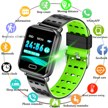 LIGE Smart Bracelet Health Monitor Heart Rate / Blood Pressure Waterproof Pedometer Mens and Womens Watches Sports