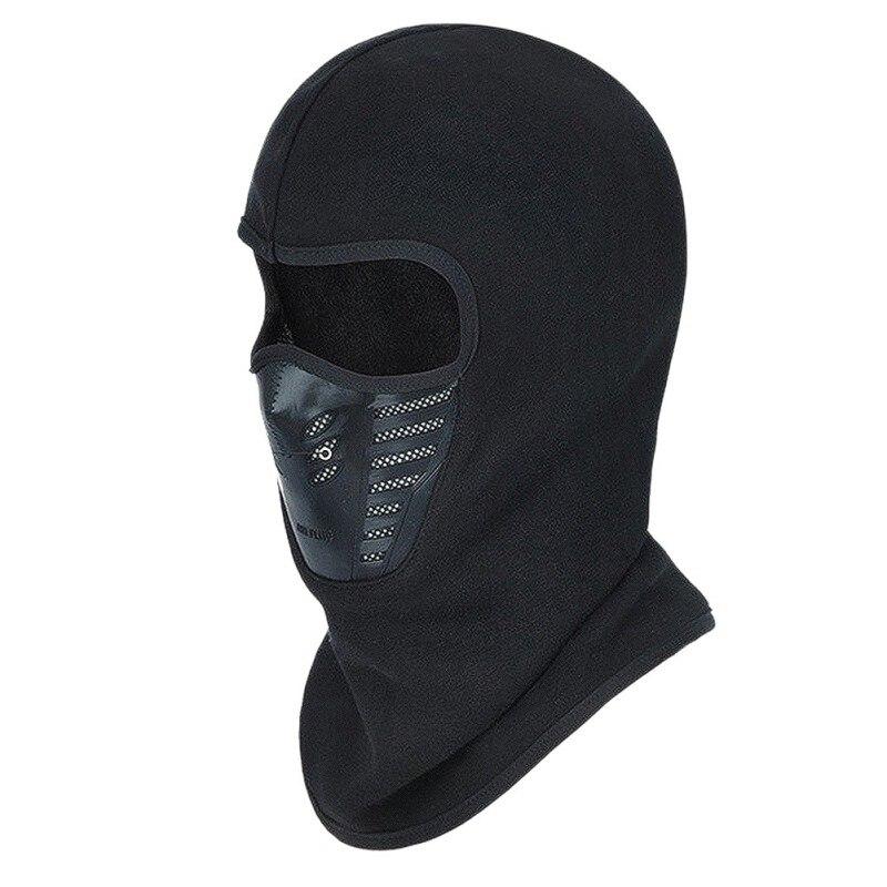Зимняя теплая велосипедная Ветрозащитная маска для лица для мотокросса лицо в маске Cs маска для улицы теплый велосипед термальная Балаклав...
