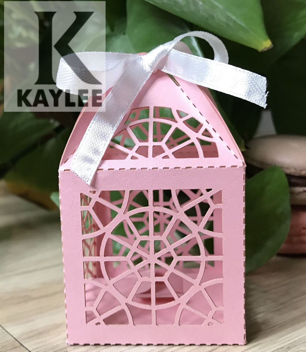 Laser cut Wedding Favors Gifts Pack Box,100pcs Mini Baby Shower ...