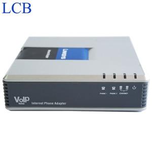 Image 5 - Marka yeni fabrika Unlocked Linksys PAP2 NA PAP2T PAP2T Na ATA telefon adaptörü SIP VOIP telefon adaptörü 2 FXS telefon