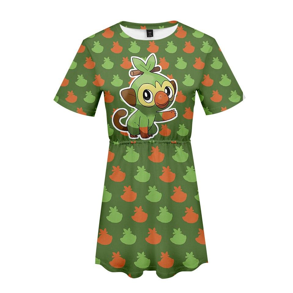 Women's Clothing 3d Print Good Guys Chucky Short Sleeve Dress Girl Kpop Super Fashion Cool Personility Trend Summer New Hot Dress Plub Sizexl
