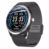 ECG PPG Smart Watch N58 Fitness Watch Support Electrocardiograph ECG Display Heart Rate Monitor Blood Pressure 3D UI Smartwatch