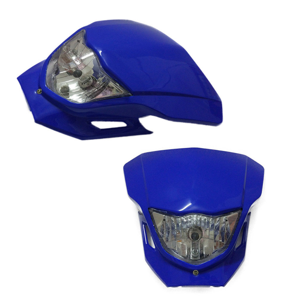 Universal Motorcycle Headlight Fairing Headlamp For Honda