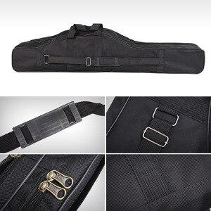 Image 4 - 휴대용 낚시 가방 접는 낚시대 캐리어 캔버스 낚시 극 도구 스토리지 가방 케이스 낚시 장비 태클 가방 Pesca L30
