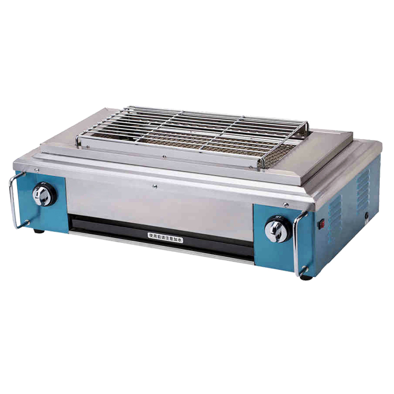 Gas Infrared Grill Stainless Steel BBQ Grill Gas Barbecue Roaster Commercial Household BBQ Gas Oven Smokeless Gas Oven YE102 sc 05 burner infrared barbecue somkeless barbecue grill bbq gas infrared girll machine stainless steel smokeless barbecue pits