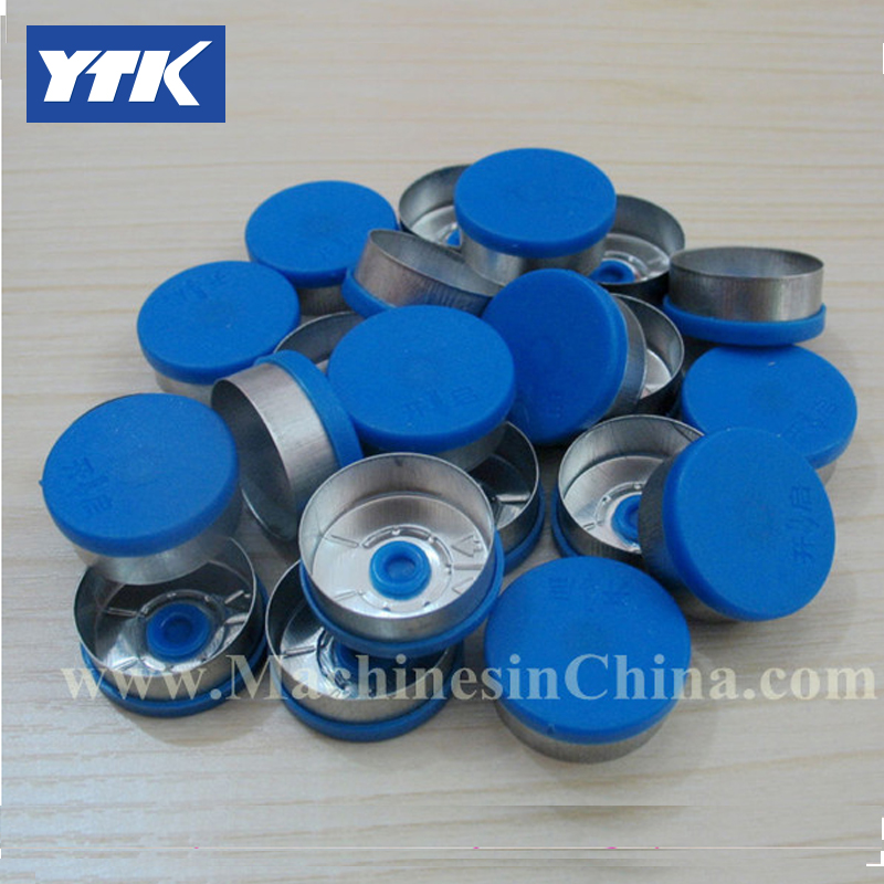 100pcs 20mm With The Arrow Full Tearing  Aluminum Plastic Cover