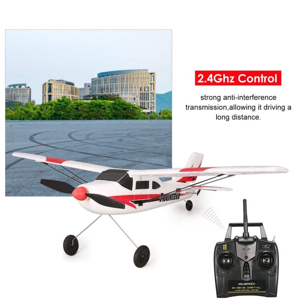 VOLANTEX V761-1 2.4Ghz 3CH Mini Trainstar 6-Axis RC Airplane Fixed Wing Drone MI