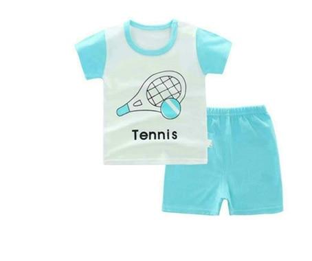 2019 Children suit, spring and summer children cotton short sleeve shorts two sets 19482019 Children suit, spring and summer children cotton short sleeve shorts two sets 1948