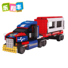 Truck Model Building Blocks Sets 618pcs/lot Deformation Car Bricks Toys For Children Christmas gift