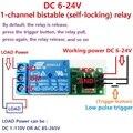 2x6 в, 9 В, 12 В, 24 В, раскладной модуль реле защелки, бистабильный самоблокирующийся переключатель, низкий импульсный триггер, плата для Arduino, св...