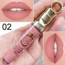 Высококачественный матовый блеск для губ Женский 20 цветов стойкий питательный липтический женский Макияж для губ Косметика Блеск для губ 1 шт