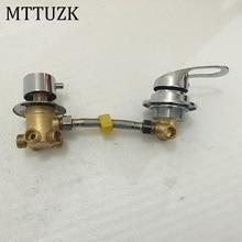 MTTUZK ติดผนัง 2/3/4/5 วิธีน้ำ Outlet ทองเหลืองสกรูหรือ intubation แยก cabin ฝักบัววาล์วผสม