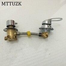 MTTUZK wand montiert 2/3/4/5 Weisen wasser outlet messing dusche tippen schraube oder intubation split duschkabine dusche misch ventil