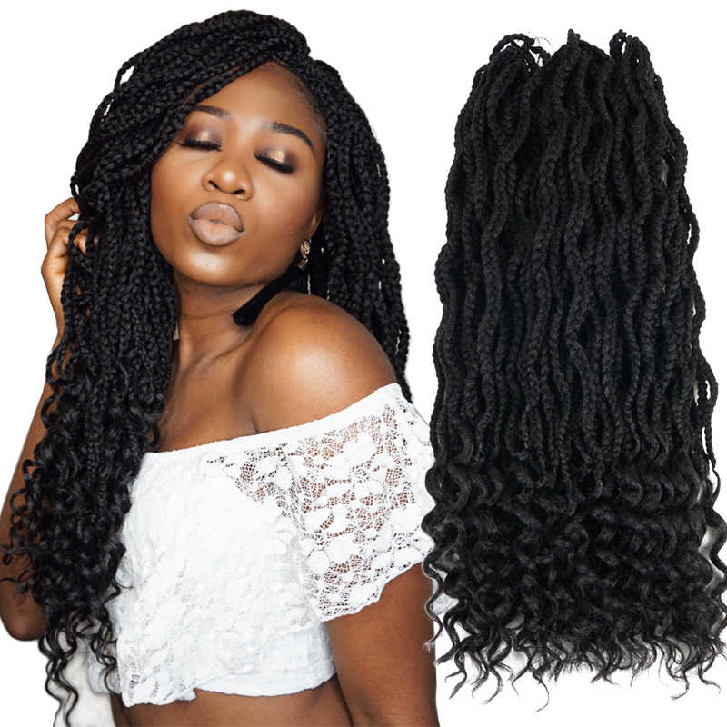Detail Feedback Questions About Silky Strands Goddess Box Braids