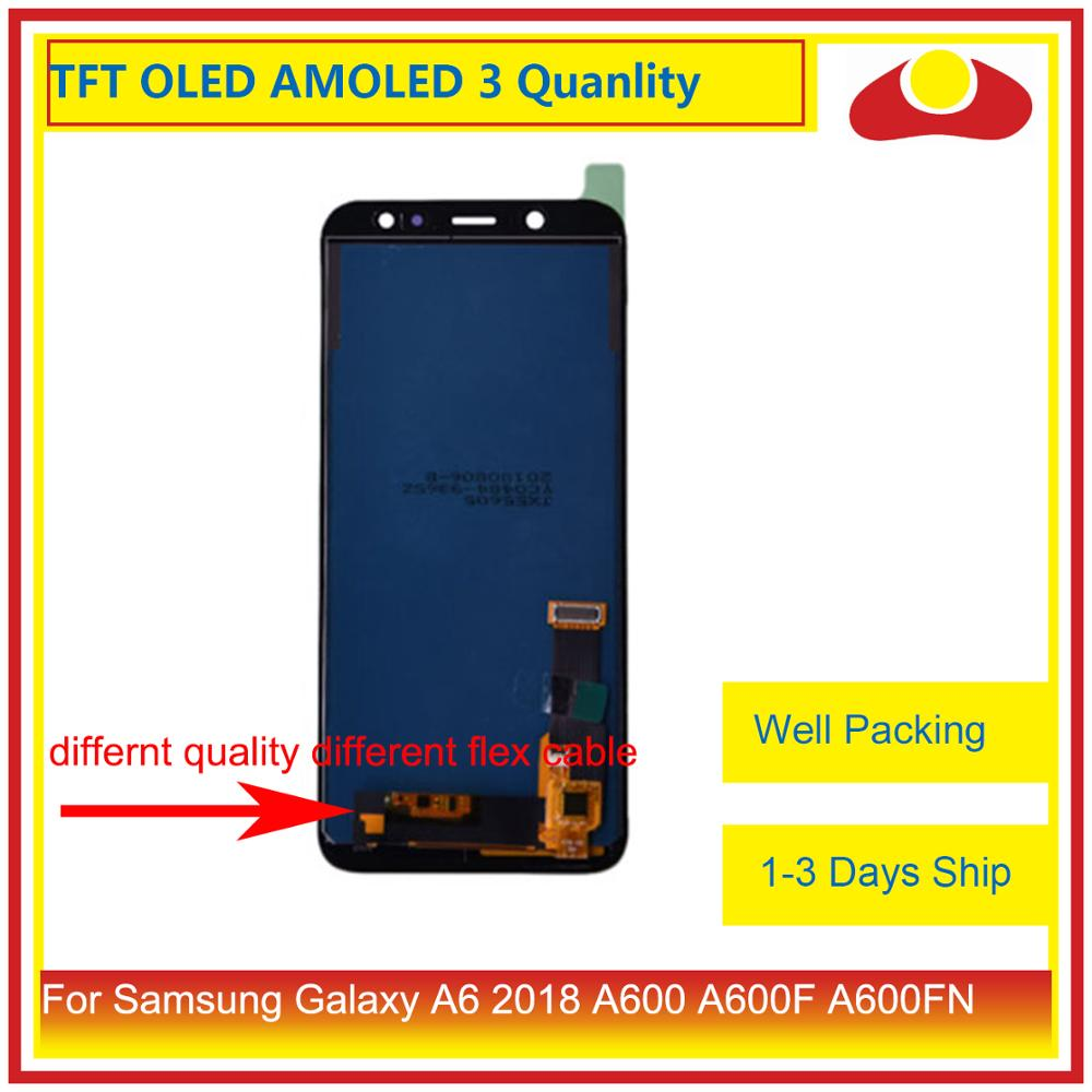 Image 2 - ORIGINAL For Samsung Galaxy A6 2018 A600 A600F A600FN LCD Display With Touch Screen Digitizer Panel Monitor Assembly Complete-in Mobile Phone LCD Screens from Cellphones & Telecommunications
