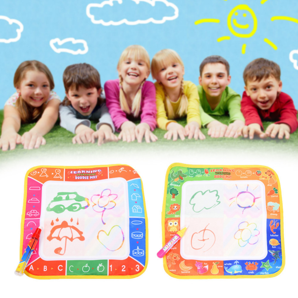 Hot sale Children New Toys Water Drawing Mat Board Painting and Writing Doodle With Magic Pen Non-toxic Drawing Board for Kids