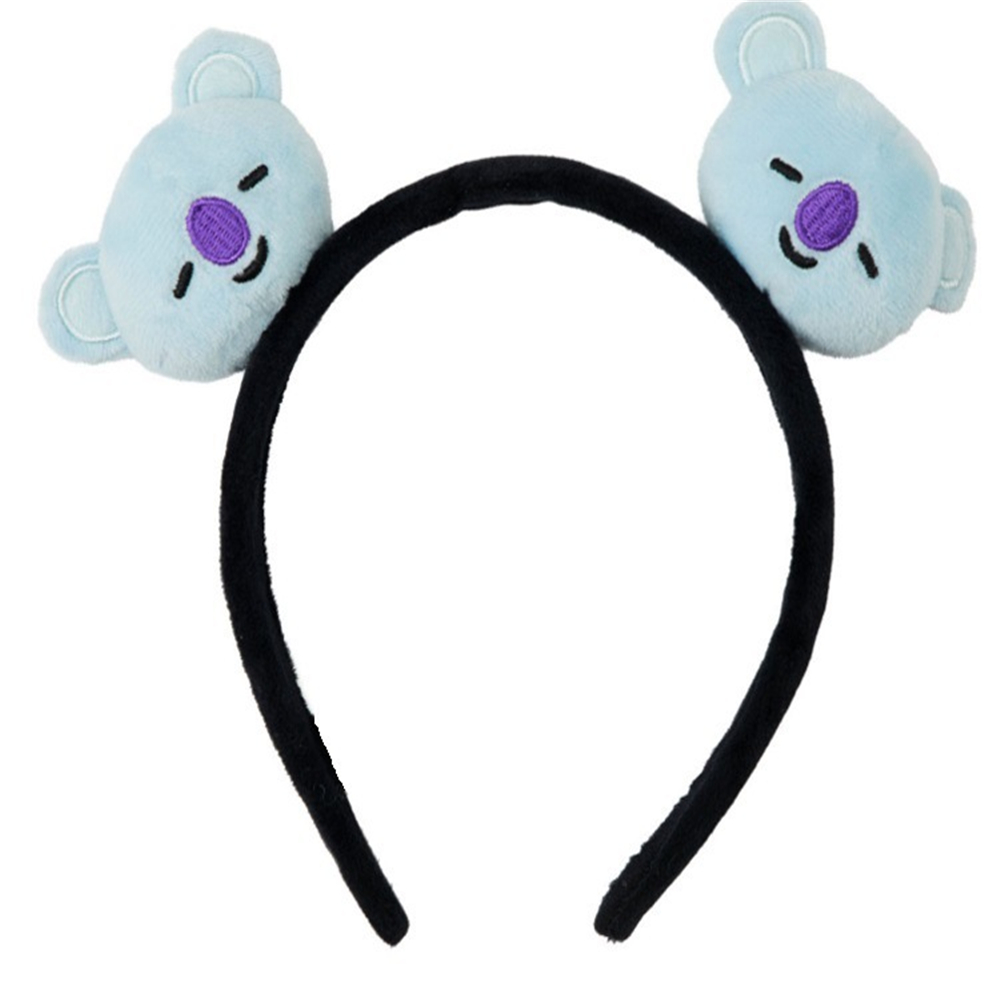 Girl's Accessories 1 Piece Kpop Bts Bt21 Lovely Cartoon Animal Elastic Hair Bands For Girls Lady Ponytail Rubber Band Hair Ties Rope Accessories Girl's Hair Accessories