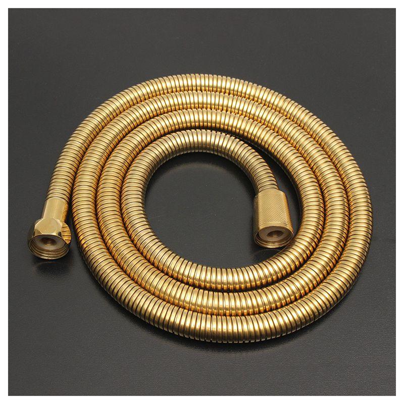 1,5 м золото шланг для душевой головки длинные гибкие нержавеющая сталь ванная комната водопроводная трубка