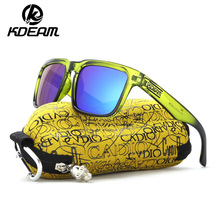 KDEAM 2019 New Arrivals Sunglasses Men Sports Polarized Sun