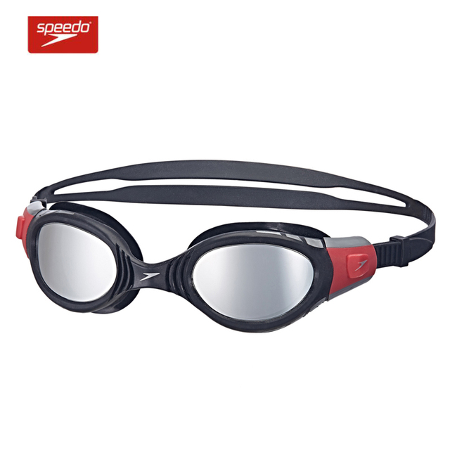 879f25778ba7af Speedo Zwembril Futura Biofuse Spiegel Waterdicht Anti Fog Anti UV Zachte  Framework Ajustable Zwemmen Bril Voor
