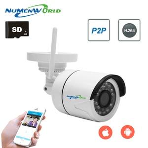 Image 2 - Minicámara IP impermeable con Wifi para exteriores, cámara IP de plástico ABS con cable, 720/960/1080P HD P2P ONVIF 802.11b/g/h