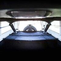 Marlaa For Jeep Wrangler 07 17 Car Rear Trunk Shade Cargo Cover Shield Luggage Security Shade