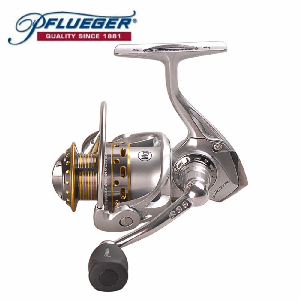 Originale Pflueger Suprema SUPSP25X 30X 35X Spinning Reel Fishing 9BB 6.2: 1 Metallo Corpo In Magnesio Pesca In Mare Reel