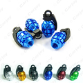 4PCS Grenade-shaped Alloy Valve Caps Bicycle MTB BMX Tire Valve Anti-Dust Covers Top Black,Silver,Red,Green,Gold,Blue #CA5489