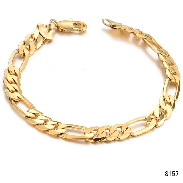2015 Nouveau EuropeStyle D\u0027or Homme Bracelet Bracelet en acier inoxydable  316L Titane Bijoux prix