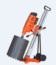 DK-350/2E Oil-immersed concrete, brick diamond core drill machine