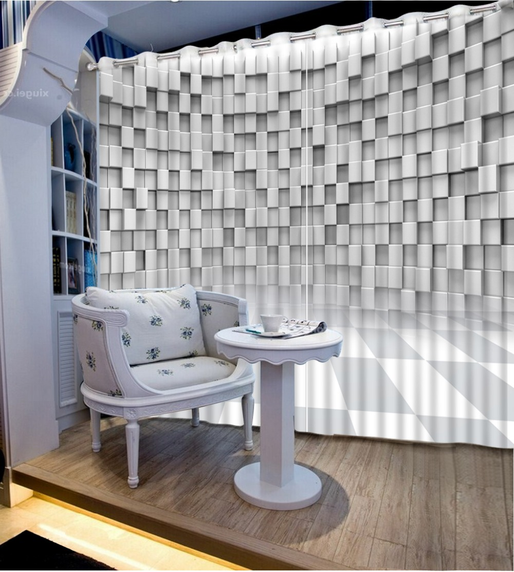 Cortinas de la ventana de alta calidad Costom para la sala de estar - Textiles para el hogar
