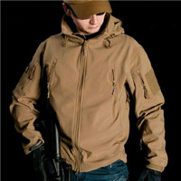 V4 0 Waterproof Soft Shell Tactical Jacket Sports Army SWAT Windproof Outerwear Coat Clothing