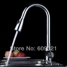 Superfaucet Freeshipping Медь Вытащить Кран, Вытащить Кухонный Кран Смесителя, Кухня Раковина Нажмите Кран, смеситель для Кухни душ