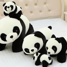 1Pcs Baby Cute Panda Plush Toys for Children Girl Boy Kid Realistic Animal Stuffed Birthday Party Gifts Adult Dolls
