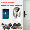 2016 HD Video Door Intercom camera WiFi IP Camera Wireless Alarm Doorbell 163Eye HD Visual Intercom WiFi Door Bell door cctv cam
