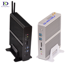 Большой Продвижение Mini PC i7 5550U HTPC Intel Nuc Безвентиляторный компьютер Бродуэлла Ultra HD 4 К 2 * Gigabit LAN + 2 * HDMI + SPDIF Неттоп PC TV КОРОБКА
