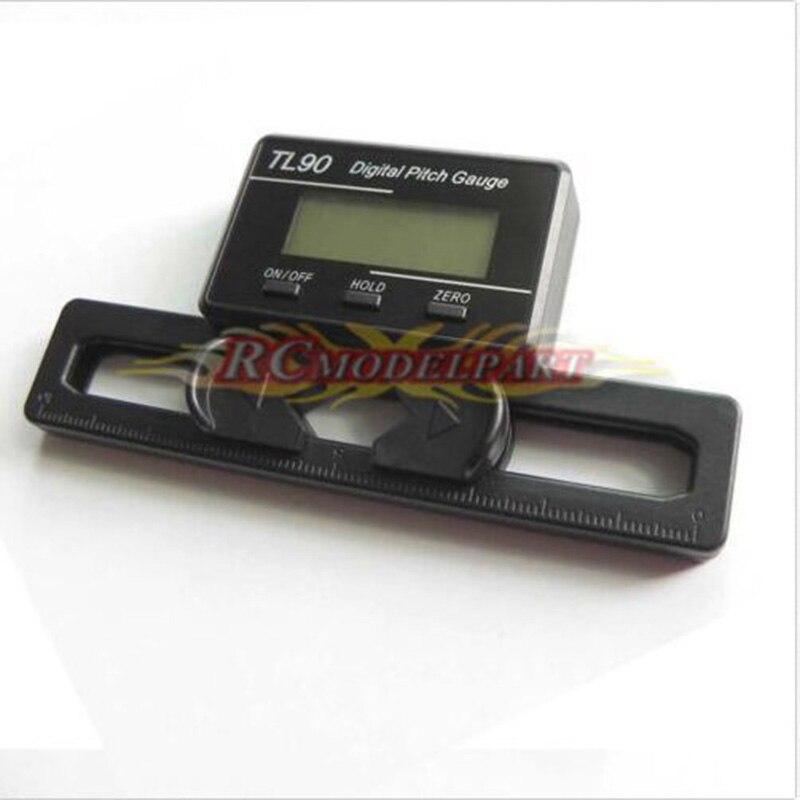 TL90 Main Blade Digital Pitch Gauge W LCD Display Align TREX 250 450 500 600 700