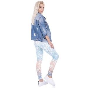 Image 5 - Legging leggings leggings legging legging leggins calças de fitness de alta elasticidade para mulheres