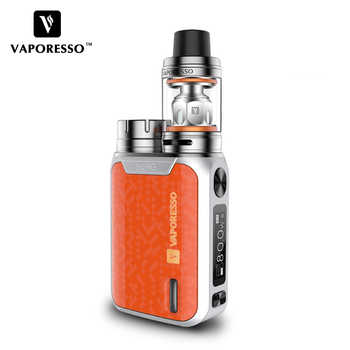 Original Vaporesso SWAG Kit Electronic Cigarette Vape kit With swag box Mod NRG SE Tank Atomizer GT coil Core No include battery