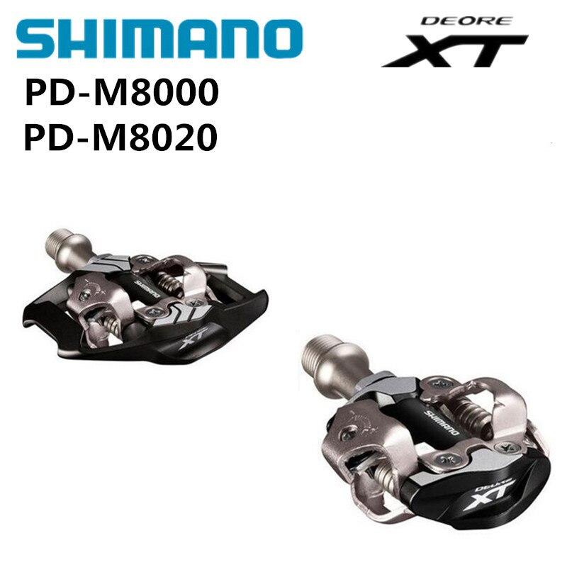 Shimano XT NOUVELLES PD M8000 M8020 Auto-Verrouillage SPD Pédales VTT Composants En Utilisant pour Vélo Racing Vtt Pièces De Vélo