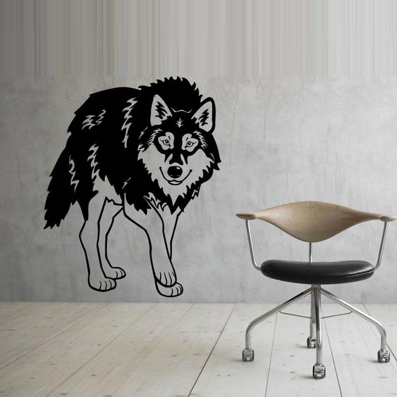 Popular Wolf Wall StickerBuy Cheap Wolf Wall Sticker lots from
