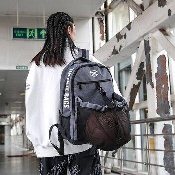 Backpack women's Waterproof Oxford Football Bag Man Women laptop backpack  school backpacks for teens