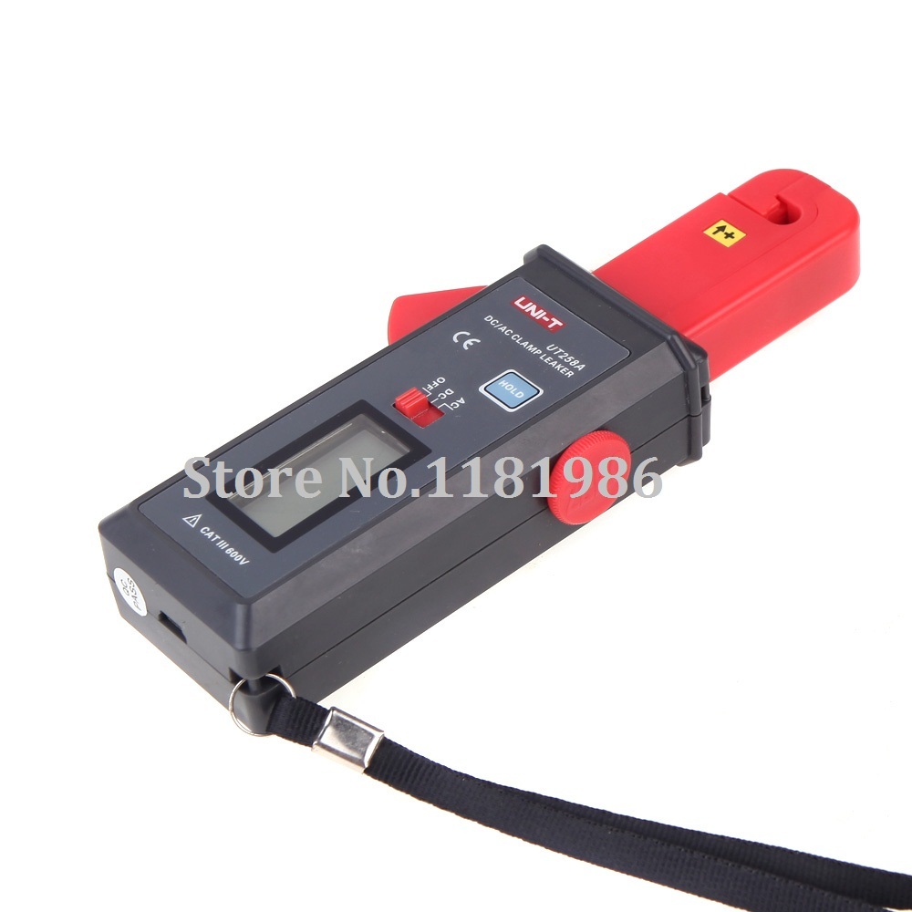 UNI-T UT258A DC/AC pince Leaker mètre sensibilité fuite testeur de courant ampèremètre ampèremètre analogique ampèremètre