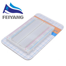 10Pcs 400 Tie Points Solderless Pcb Breadboard Mini Universele Test Protoboard Diy Brood Board Bus Test Circuit Board