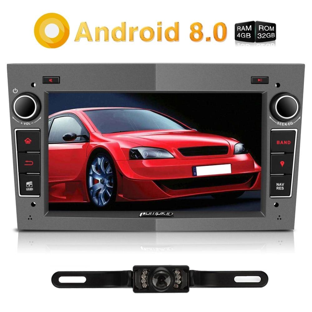 Pumpkin 2 Din 7'' Android 8.0 Car Radio No DVD Player GPS Navigation Bluetooth Car Stereo For Opel/Vectra/Corsa Wifi 4G Headunit