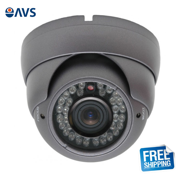 Night Vision 1000TVL Metal Dome Surveillance CCTV Camera vision u60