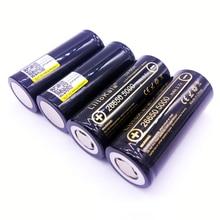 4 шт. liitokala 26650-50a 5000 мАч 26650 Li-ion 3.7 В Перезаряжаемые Батарея для фонарика 20A